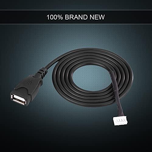 Cavo adattatore, Fydun cavo adattatore per interfaccia USB per autoradio con strumenti di rimozione per 307 C2 C3