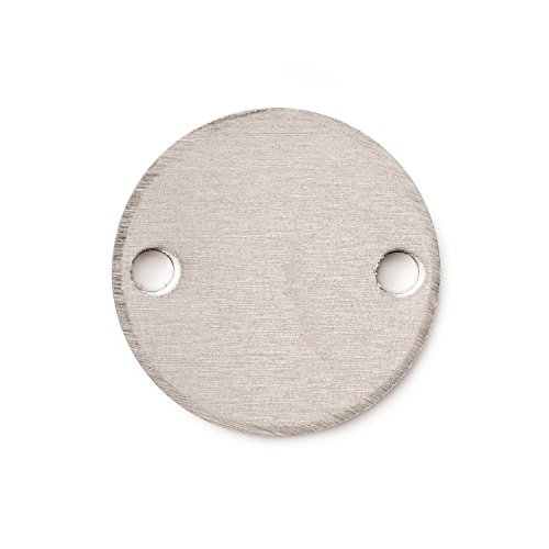 10 best metal stamping blanks two holes for 2021
