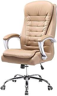 DBL Silla de la computadora silla de ordenador ergonómico giratorio con función de oscilación de alta Volver cuero de Escritorio Juegos silla de altura ajustable: 21,6-24 En Las sillas de escritorio