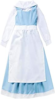 Womens Halloween Beauty and The Beast Belle Maid Lolita Dress Anime Party School Uniform Cosplay Costumes