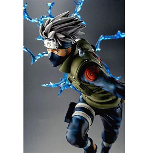 YIFNJCG Juguete Modelo Naruto Mano 15 generación 2 Naruto Kakashi Estatua Decoración de la Oficina en casa (Color : C): Amazon.es: Hogar