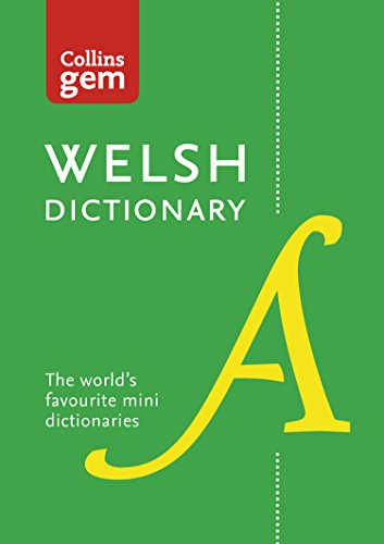 Collins Welsh Gem Dictionary: Trusted support for learning (Collins Gem) (English Edition)
