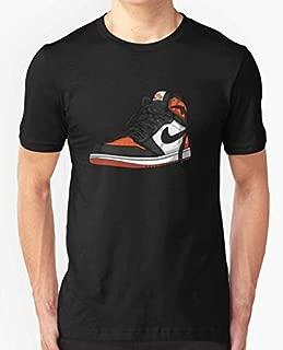 Air Jordan 1 SHATTERED BACKBOARD T-Shirt Custom For Men and Women