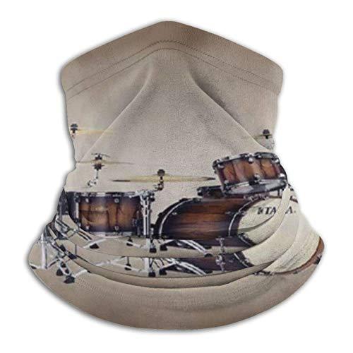 Lawenp Drum Kit Unisex Reutilizable Ajustable Headwear Al Aire Libre Para Hombres Mujeres Cara Bufanda Pañuelo Polvo Multifuncional Casual 3d Impreso Cuello Polaina Calentador Bandanas Balaclava