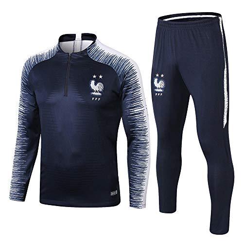 zhaojiexiaodian Heren Voetbal Club Trainingspak Jersey Lange mouwen Sportkleding Top Wit