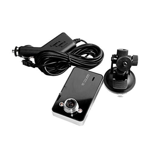 ACEHE K6000 Tacógrafo automático Cámara de Coche Dvr Videocámara Grabadora de Video 2.7 Pulgadas Full 1080P Función Nocturna Ultra Gran Angular