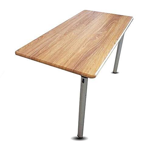 BinLZ-Table Mesa de Pared Mesa de Pared Mesa Plegable Mesa de Comedor de Vidrio Templado Pequeño Y