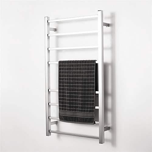 HNBMC Elektrischer Handtuchhalter, Vierkantrohr-Handtuchhalter aus Edelstahl, 1000x550x120mm