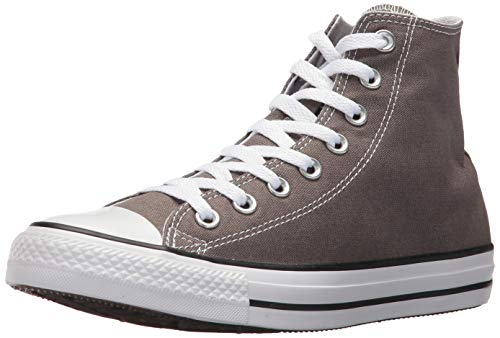 Converse Chuck Taylor All Star Hi - Zapatillas deportivas unisex para niños, color gris - 7 M US Child