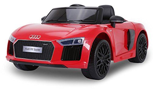 Macchina Elettrica per Bambini 12V Audi R8 Rossa