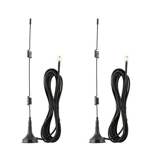 Fltaheroo 7DBi 2.4G / 5G / 5.8G Cable de ExtensióN de Antena de Refuerzo de Antena WiFi InaláMbrico para CáMara IP