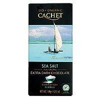 Cachet(カシェ) オーガニックシーソルト 100g×12枚(1ケース) [正規輸入品]