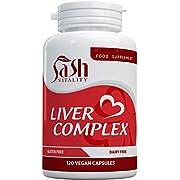 Liver Support Capsules High Strength | 13 Essential Natural Ingredients for Healthy Liver Function - Premium Liver Supplement | 120 Vegan Liver Pro Care Tablets – 8 Weeks Usage | UK Made Sash Vitality