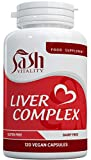 Liver Support Capsules High Strength | 13 Essential Natural Ingredients for Healthy Liver