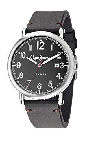 Pepe Jeans Hombre Charlie analógico Cuarzo Reloj Pulsera Piel r2351105008