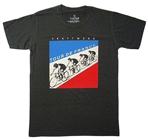 Men's Kraftwerk Electronic Music Band T-Shirt, Dark Gray, M