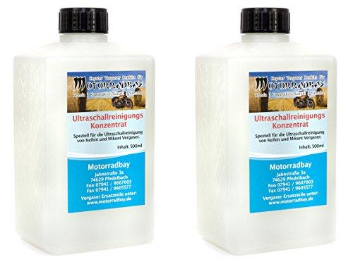 Preisvergleich Produktbild Ultraschallreinigungs Konzentrat Vergaser 2 Stück á 500 ml