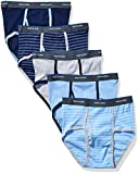 Fruit of the Loom Big Boys' Assorted Fashion Brief 5 Pack ,Multi,L (14-16)