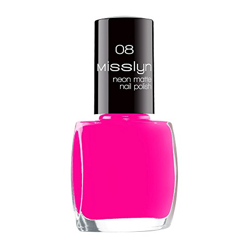 Misslyn Neon matte nagellak, 10 ml fluorescerende paint