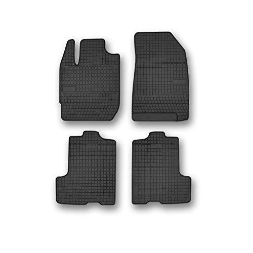 Alfombrillas de Goma Compatible con DACIA Duster desde 2018 4x4 / 4WD | Accesorios Coche Alfombra Goma Suelo Premium