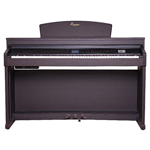 pianova pr-175RW Digitalpiano mit 88Tasten Gegengewichtsstapler Action-Hammer und Rhythmen