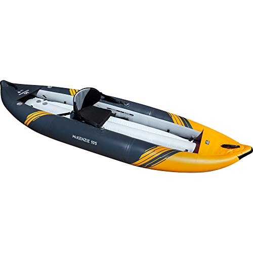Aquaglide McKenzie 105 Inflatable Kayak - 1 Person Whitewater Kayak