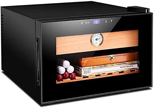 LYFHL Humidor de Puros, humectante eléctrico de 25 l, gabinete de Puros, humidificación de Puros, Caja de Humedad termostática Constante