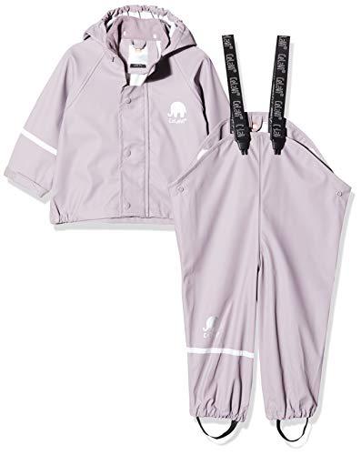 CeLaVi Zweiteiliger Regenanzug in Vielen Farben Veste Imperméable, Violet (Violett), 68/74 (Taille Fabricant: 70) Bébé Fille