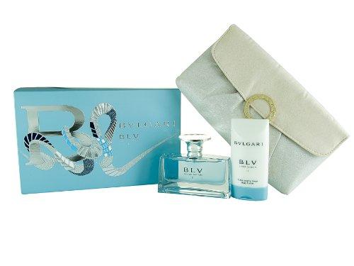 Bvlgari BLV II 50 ml Eau de Parfum + 75 ml Body Lotion + Kosmetiktasche Geschenkset für Sie, 1er Pack (1 x 125 ml)