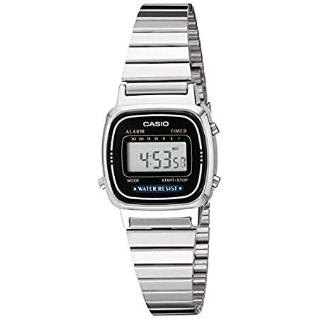 Casio watches Casio Women's LA670WA-1 Daily Alarm Digital Watch