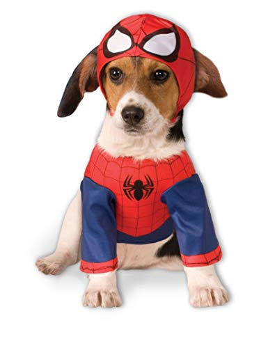 Rubis Officiel pour Chien Spider Man Costume – Grand