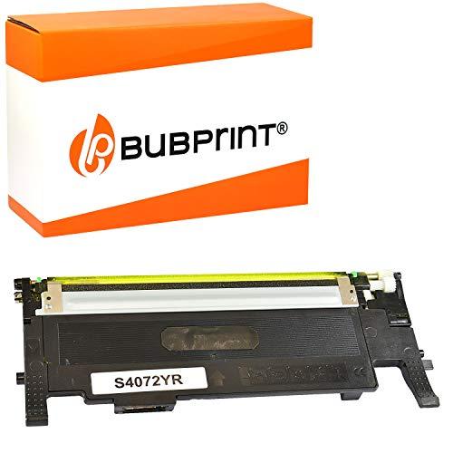 Bubprint Toner kompatibel für Samsung CLT-Y4072S/ELS für CLP-320 CLP-320N CLP-325 CLP-325N CLP-325W CLX-3180 CLX-3185 CLX-3185FN CLX-3185FW CLX-3185N CLX-3185W Gelb