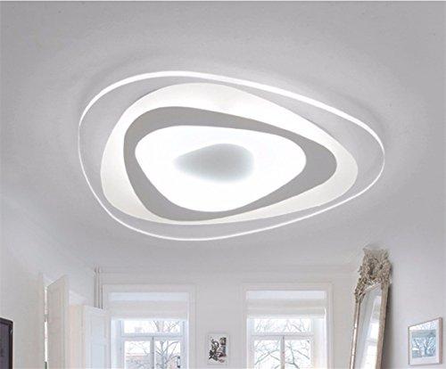 Lampada Parete Moderna Ultrasottile Plafoni LED Luce Soffitto Casa Salone Plafoniera 13W Triangolo Bianco Freddo