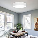 Topwor Plafon LED de Techo 24W, Lámpara de techo Regulable 2400LM Moderna Luz led techo con Control Remote,3 Colors, para baño Dormitorio Cocina Sala de estar Comedor Balcón Pasillo