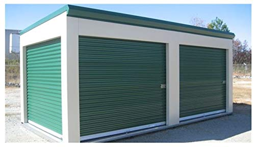 Amazing Deal DuroSTORAGE 3'4x6'8 850 Series Miami FL Wind Certified Steel Roll-up Door Direct