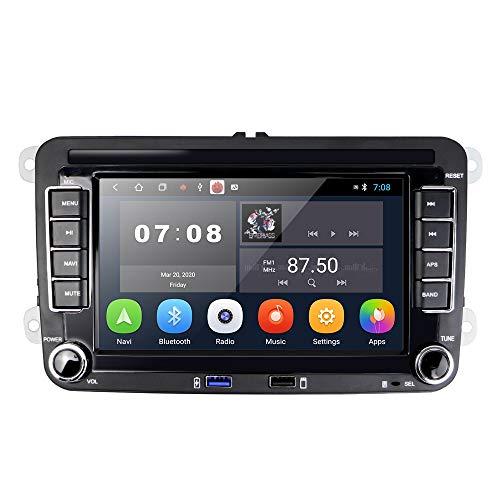 [1G+16G] Autoradio Android per VW GPS Navigation 7 '' Touch Screen capacitivo Bluetooth Car Stereo WIFI Radio FM Ricevitore USB per golf POLO Touran Tiguan Seat Altea