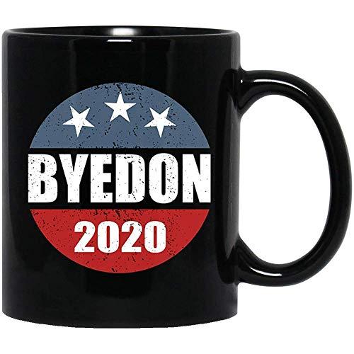 N\A yedon 2021 Anti Trump Joe # Biden Elección Estadounidense Bandera de Estados Unidos Taza de café Divertida 11 oz