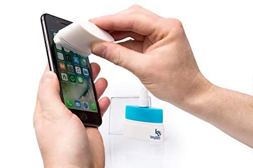 ScreenClear – Display Reiniger gegen Viren und Bakterien – für alle Smartphones, Tablets und Laptops – ohne Alkohol, geruchlos