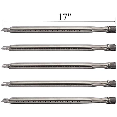 Votenli S1304A (5-Pack) Replacement Pipe Burner for Grillware, Home Depot, Ducane, Original Part, Lowes Model Grills