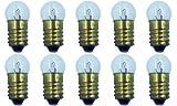 CEC Industries #1447 Bulbs, 18 V, 2.7 W, E10 Base, G-3.5 Shape (Box of 10)