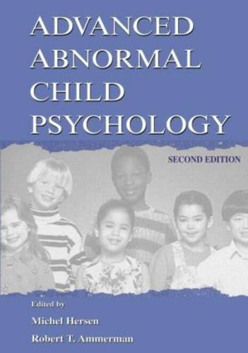 Advanced Abnormal Child Psychology (Second Edition)