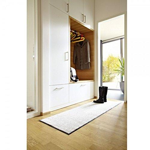 Schöner Wohnen Sauberlauf Broadway Uni Creme # 04, Größe:50x70 cm