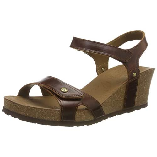 Panama Jack Women's Julia Clay Ankle Strap Sandals