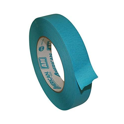 Intertape AM AquaMask Medium Temperature Masking Tape: 1 in. x 60 yds. (Aqua)