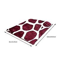 熱を伴うマッサージャーオフィス、ホーム、スポーツ、旅行用 居心地の良い柔らかいフランネルの電気加熱された冬の毛布の毛布の電気加熱された柔らかい余暇耐久性の高い実用的なコンビニエンス (Color : 150x80CM)