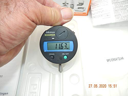 MITUTOYO Absolute Model: ID-S 1012B, Code No.: 543 681B-70 DIGIMATIC INDIKATOR, Digitale Messuhr mit Messbereich 12,7-0,01 mm mit Gebrauchsanweisung, NEU im geöffneten OVP …