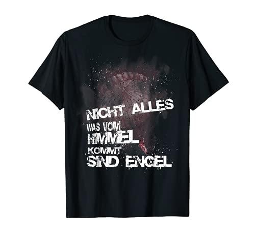 Fallschirmjäger Nicht alles was vom Himmel kommt sind Engel T-Shirt