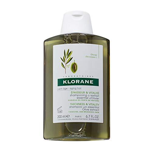 Klorane - Champú Esenc Olivo 200, Estándar (3282770039146)