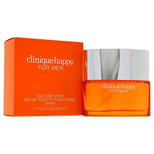 Clinique Happy Men homme / men, Eau de Toilette, Vaporisateur / Spray 50 ml, 1er Pack (1 x 50 ml)