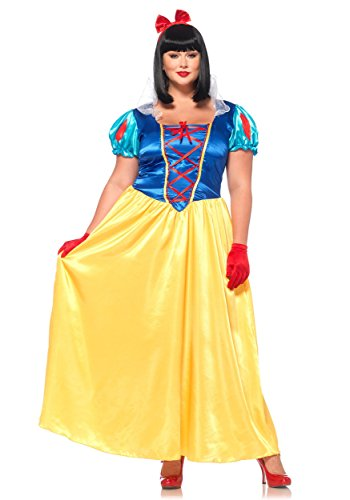 Leg Avenue Classic Snow White Plus Size Dress Costume - http://coolthings.us